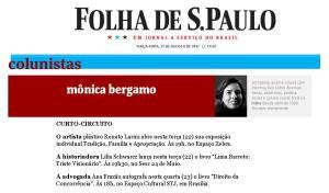 22_08_2017 Folha de S. Paulo