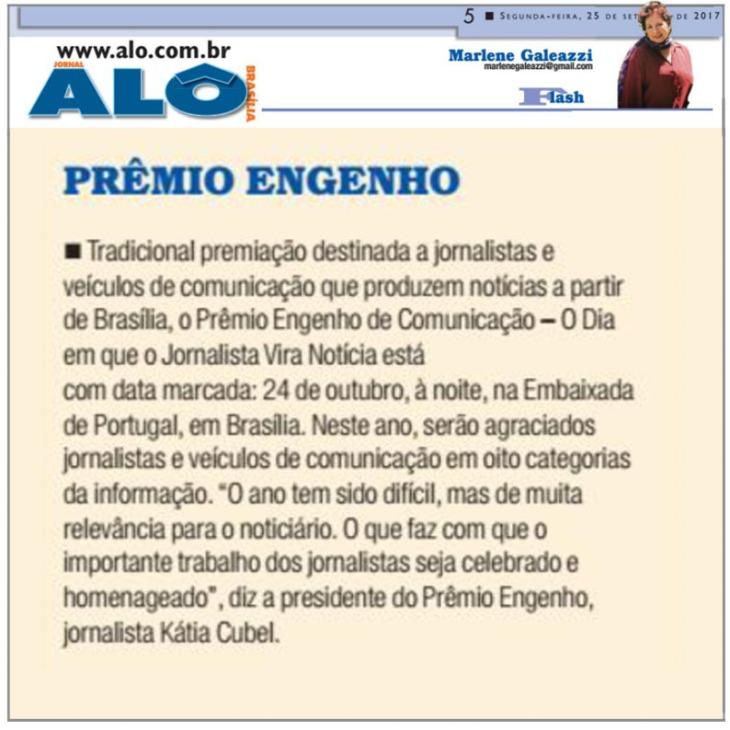 25.09.2017 - MARLENE -ALO BRASÍLIA