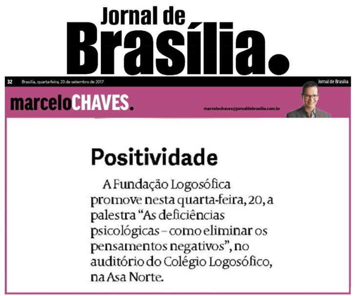 jornal de brasília logosófico